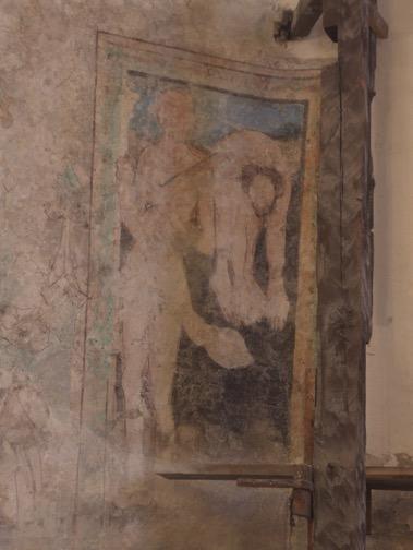 11. Późnogotycka polichromia św. Bartłomiej, lata 60- te XV w.,