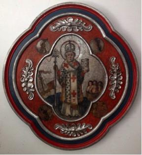 14. Ikona św. Mikołaj, XVIII w.