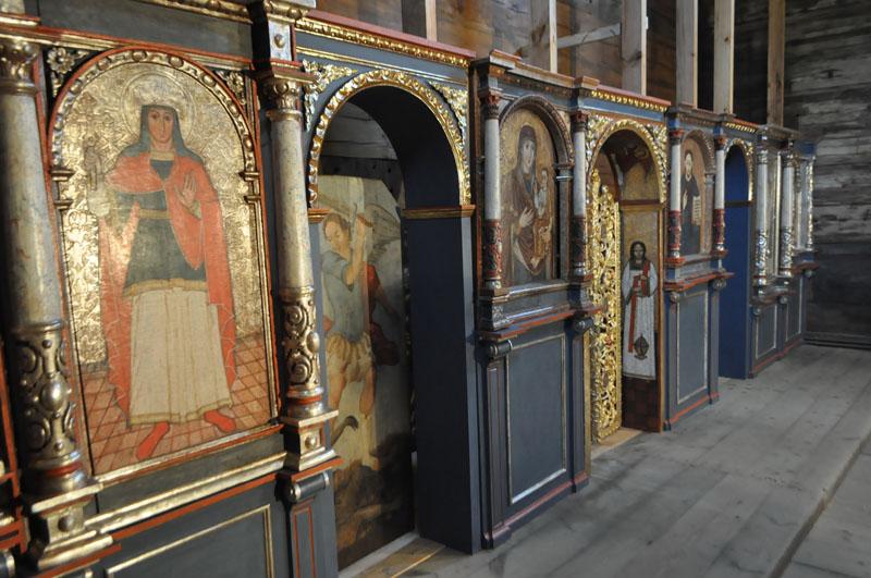16. Rząd ikon namiestnych ikonostasu, XVII-XVIII w.