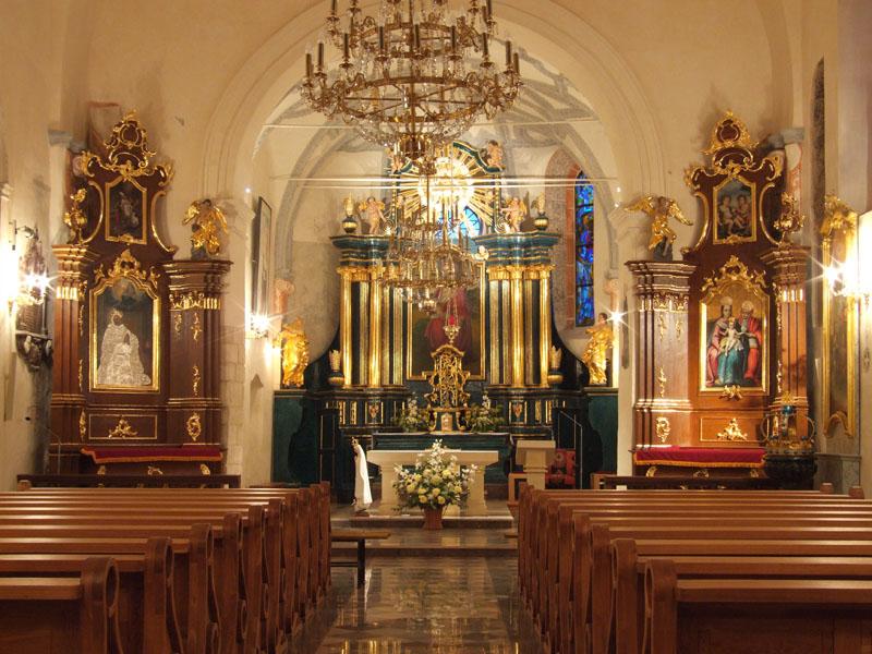 18. Wnętrze nawy głównej kościoła (kompleksowe prace konserwatorskie)
