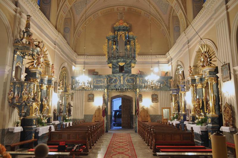 20. Barokowy prospekt organowy i balustrada chóru, II poł. XVIII w.