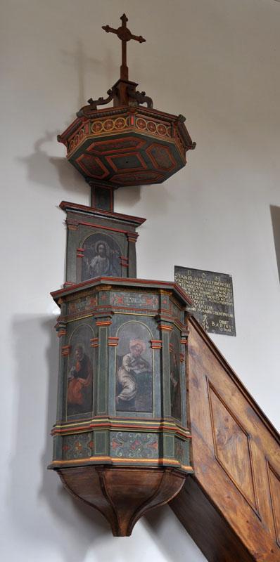 28. Manierystyczna ambona, XVII w.