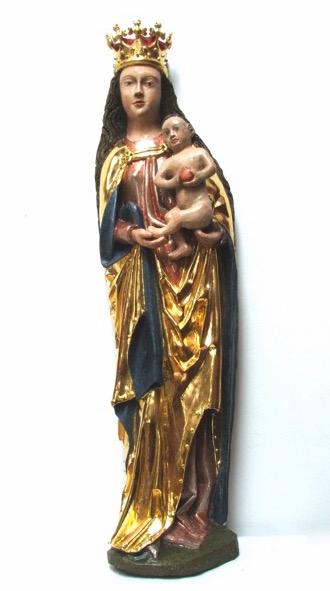 3. Madonna z Dzieciątkiem, 3 tercja XV w.