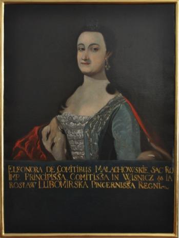 Portret Eleonory Teodorowej Lubomirskiej z Małachowskich