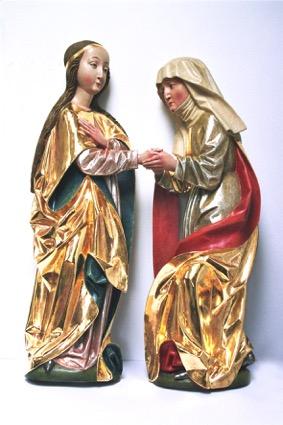 5. Grupa Nawiedzenie Najświętszej Marii Panny, XV/XVI w.