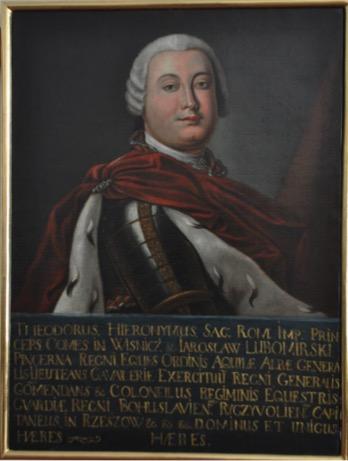 Portret Teodora Hieronima Lubomirskiego