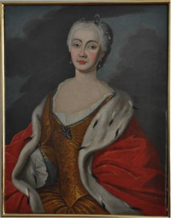 Portret Joanny ze Steinów Jerzowej Lubomirskiej
